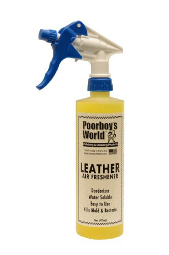 Poorboys Spray Air Freshener Leather Scent 473ml